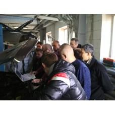 Обучение диагностов по дизельному двигателю в школе Инжекторкар