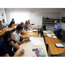 Выпуск летней группы по диагностике дизельных двигателей