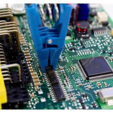 Программирование ключей иммобилайзера на столе со снятием блока через EEPROM