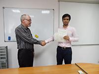 Вручение сертификата